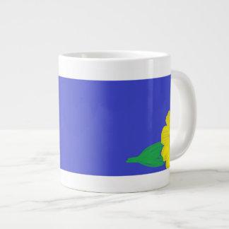 Sunflower Corner Jumbo Mug 20 Oz Large Ceramic Coffee Mug