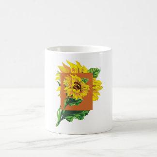 Sunflower Cup Basic White Mug