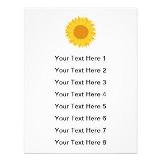 Sunflower Custom Announcement