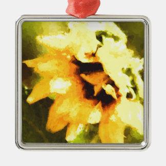 Sunflower Daze Christmas Ornament