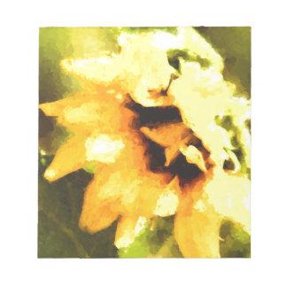 Sunflower Daze Notepad