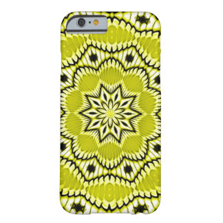 Sunflower Dementia Fractal Barely There iPhone 6 Case