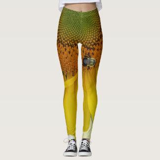 Sunflower Design 1 Leggings
