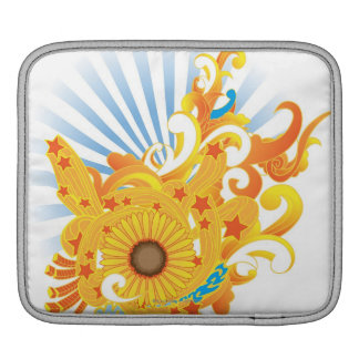Sunflower Design iPad Sleeve