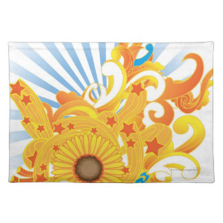 Sunflower Design Placemat