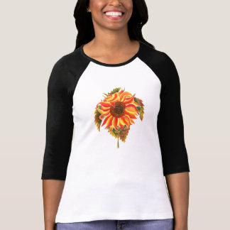 Sunflower design T-shirt