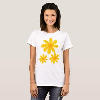 Sunflower Design Tshirt for Women