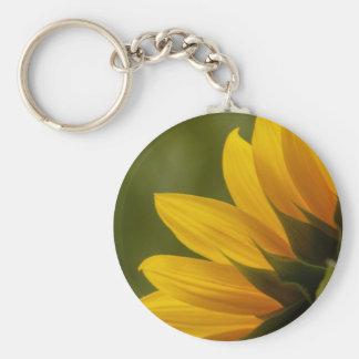 Sunflower Detail Key Ring