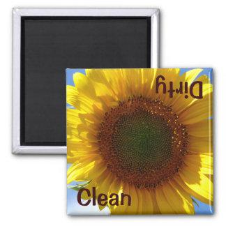 Sunflower Dishwasher Magnet