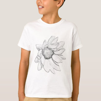 sunflower drawing T-Shirt
