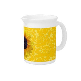 Sunflower Drink Pitcher