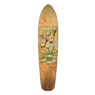 Sunflower & Eiffel Tower Skateboard Deck