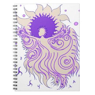 Sunflower Fairy (Lavender) Notebooks