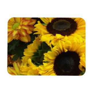 Sunflower Fall Flowers Magnet