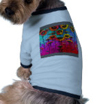 Sunflower Field Art Gifts by Sharles Doggie T-shirt