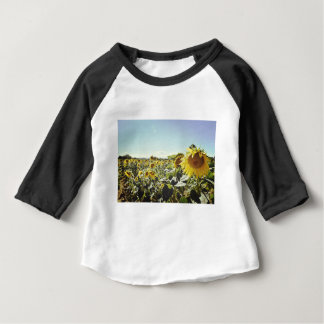 Sunflower field baby T-Shirt