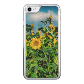 Sunflower Field Carved iPhone 8/7 Case