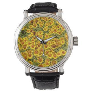 Sunflower Field eWatchFactory Watch