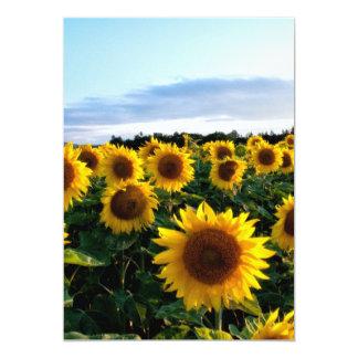 Sunflower Field Invite
