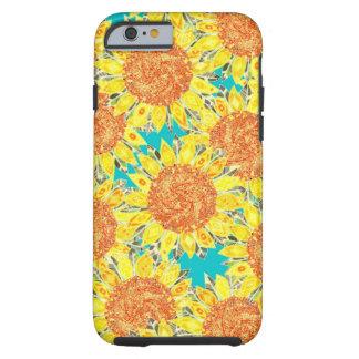 sunflower field tough iPhone 6 case