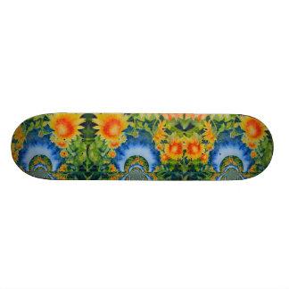 Sunflower Fields forever 21.6 Cm Old School Skateboard Deck