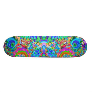 Sunflower Fields forever -blue 21.3 Cm Mini Skateboard Deck