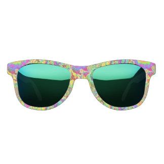 Sunflower fields forever - green sunglasses