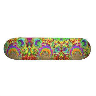 Sunflower Fields forever -orange 21.6 Cm Skateboard Deck
