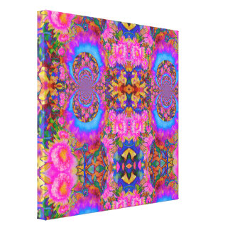 Sunflower fields forever -pink canvas print