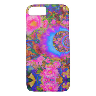 Sunflower fields forever -pink iPhone 8/7 case