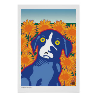 Sunflower Fields Forever-Print