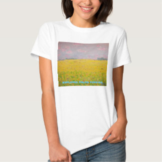 sunflower fields forever shirts