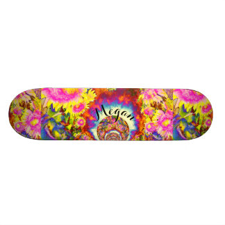 Sunflower Fields Monogram 20.6 Cm Skateboard Deck