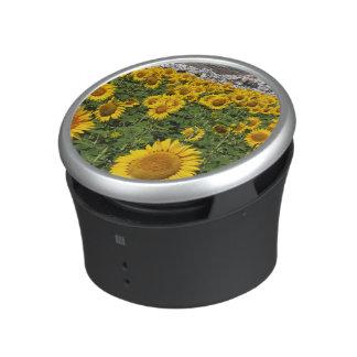 Sunflower fields, white hill town of Bornos Bluetooth Speaker