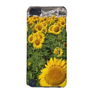 Sunflower fields, white hill town of Bornos iPod Touch (5th Generation) Covers
