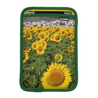 Sunflower fields, white hill town of Bornos Sleeve For iPad Mini