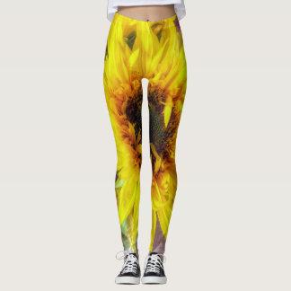 Sunflower Flair Leggings