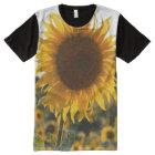 Sunflower garden.Beautiful flowers All-Over Print T-Shirt