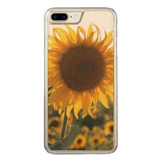 Sunflower garden.Beautiful flowers Carved iPhone 8 Plus/7 Plus Case