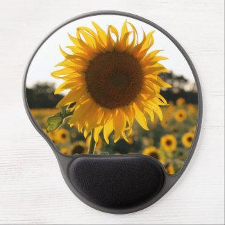 Sunflower garden.Beautiful flowers Gel Mouse Mat