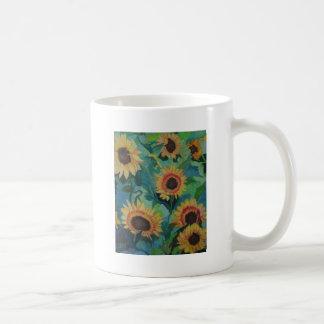 Sunflower Garden Coffee Mugs