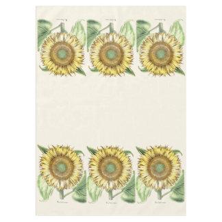Sunflower Garden Floral Flowers Tablecloth