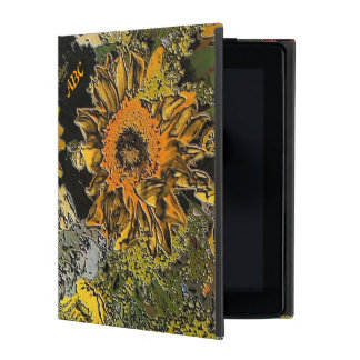 Sunflower Garden in Polished Stone Do-Do Case iPad Cover