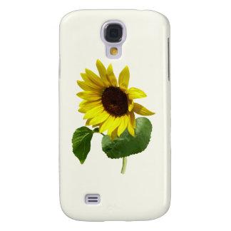 Sunflower Gazing Down Samsung Galaxy S4 Case