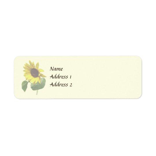 Sunflower Gazing Down Wedding Products