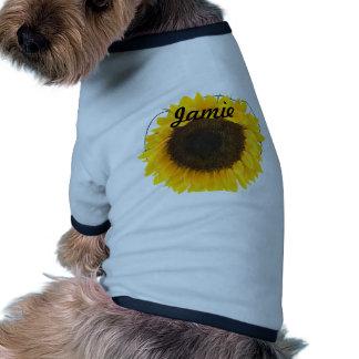 Sunflower Gifts Ringer Dog Shirt