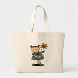 Sunflower Girl 9th Birthday Gifts Canvas Bag