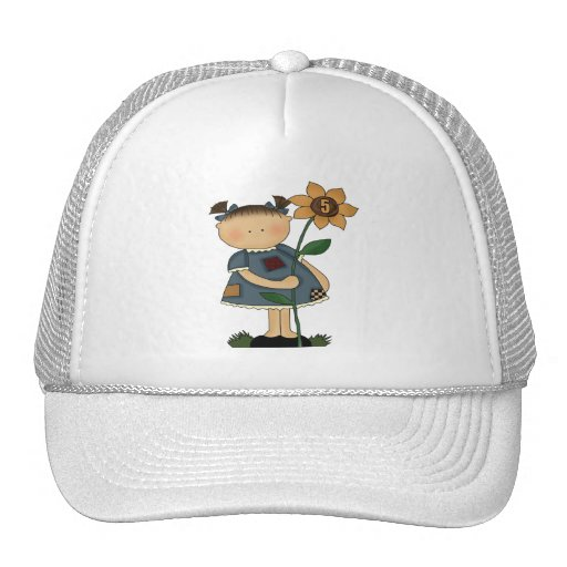 Sunflower Girls 5th Birthday Gifts Hats
