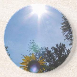 Sunflower Glow Coasters