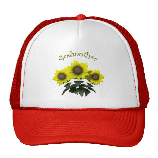 Sunflower Godmother Mothers Day Gifts Cap